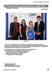 l87p05-Forum des bonnes pratiques Prince2 MSP P3O 3