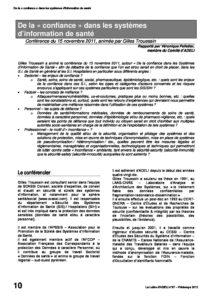 l87p10-De la confiance dans les systèmes d'information de santé 4
