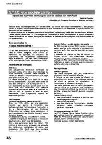 """l88p46-N.T.I.C. et """"société civile"""" 10"""
