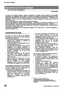 l89p18-Gouvernance SI et stratégie 2