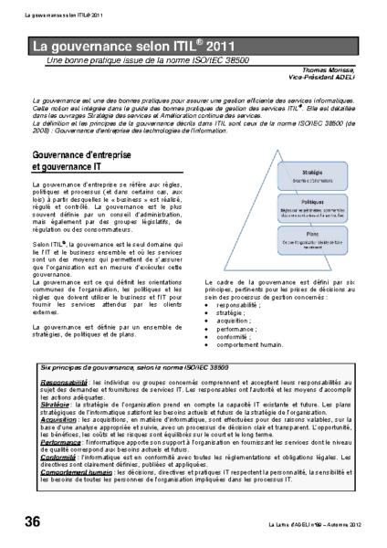 l89p36-La gouvernance selon ITIL 2011