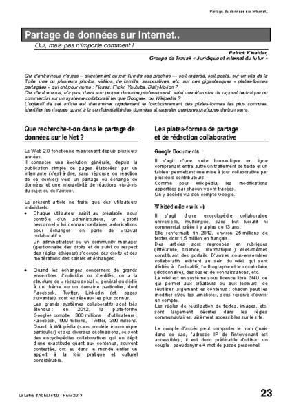 l90p23-Partage de données sur Internet…