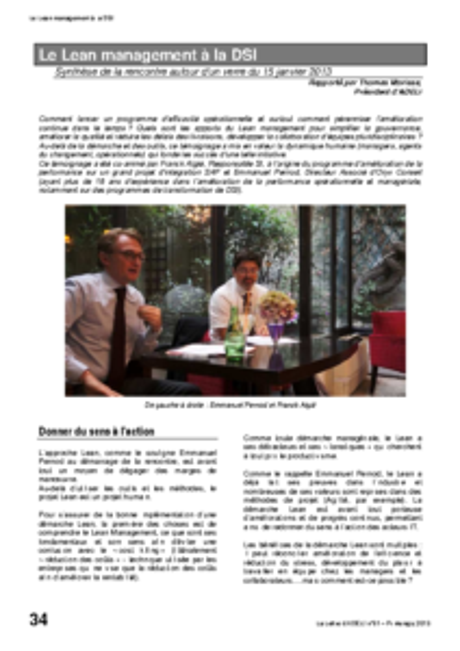 l91p34-Le lean management à la DSI