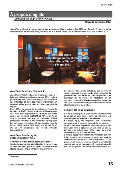 l92p13-A propos d'agilité