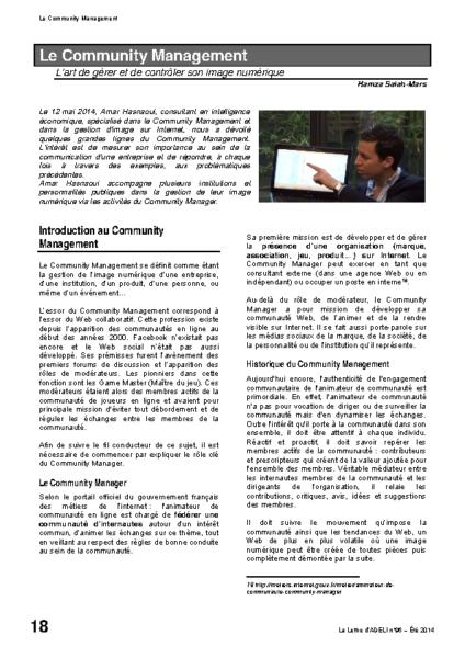 l96p18-Le community management