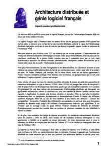 l33p23-Architecture distribuée et génie logiciel français 2