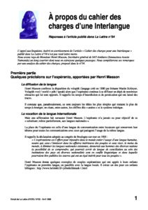l35p21-A propos du cahier des charges d'une interlangue 9
