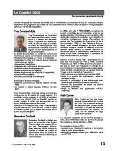 l58p13- Le comité 2005 2