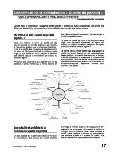 """l58p17-Lancement de la commission """"Qualité du produit"""" 2"""