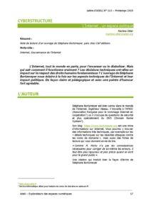L115p17 - Cyberstructure - L'Internet, un espace politique 6