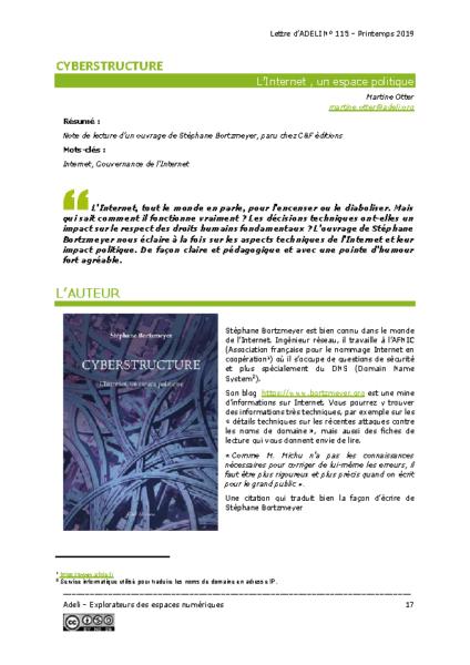 L115p17 – Cyberstructure – L'Internet, un espace politique