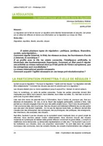 L115p26 - La régulation 4