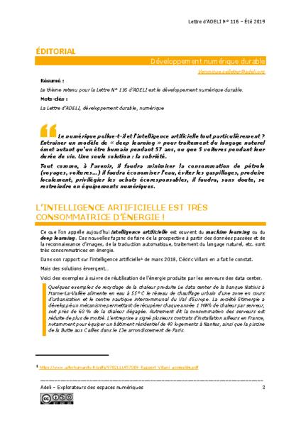 L116p03 – Éditorial – Développement numérique durable