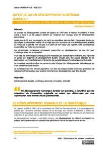 L116p14 - Qu'est-ce qu'un développement numérique durable ? 7
