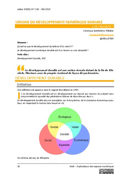 L116p20 – Origine du développement numérique durable