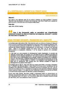 """L116p24 - Le """"continuous"""" sprint 0 du projet agile 3"""