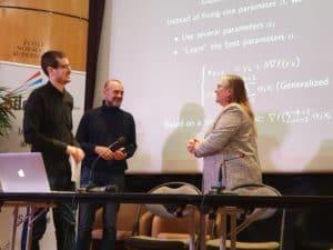 Remise du prix de thèse PSL/ADELI, le 6 décembre 2019, à l'ENS 3