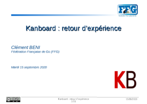 Conference Kanboard – Document introductif