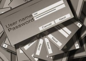 User name - Password