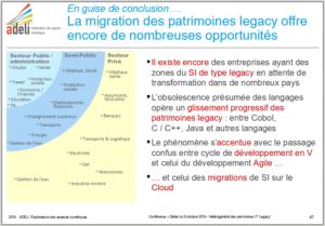 Patrimoines numériques «Legacy» : les défis de l'hétérogénéité 19